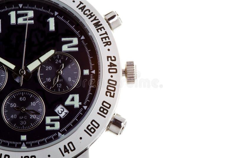 Relógios de pulso com diversos seletores imagem de stock royalty free