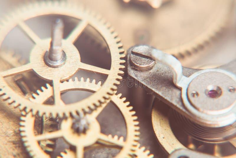 Relógios mecânicos foto de stock