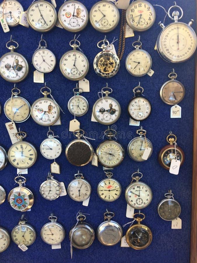 Relógios velhos imagem de stock