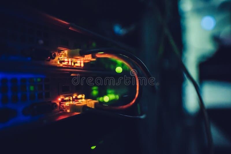Relação do centro de dados fotos de stock