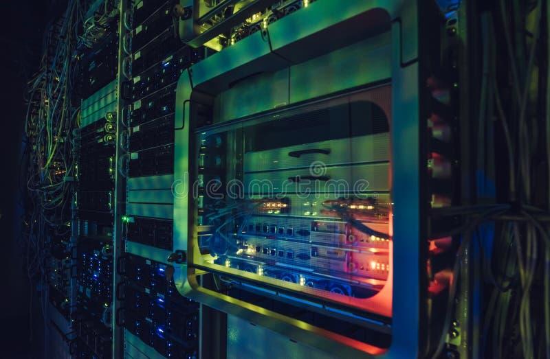 Relação do centro de dados imagem de stock