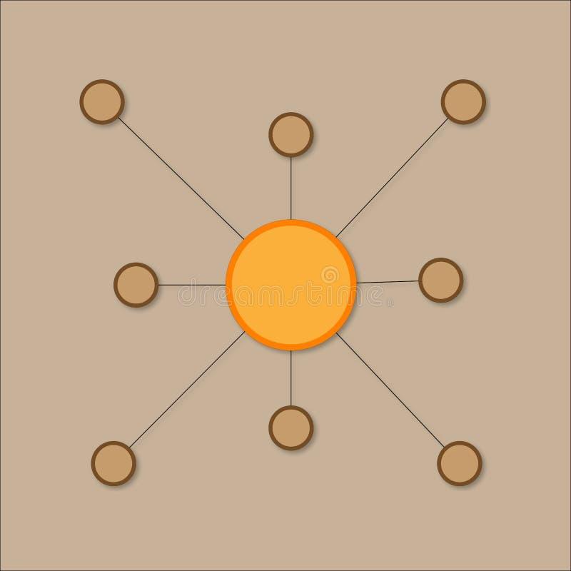 Relação simples ilustração do vetor