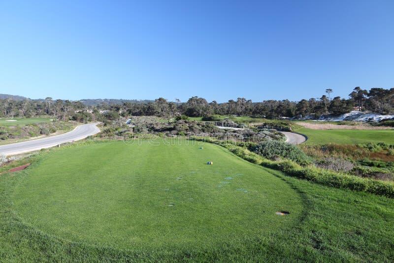 Relações de golfe de Pebble Beach imagens de stock royalty free