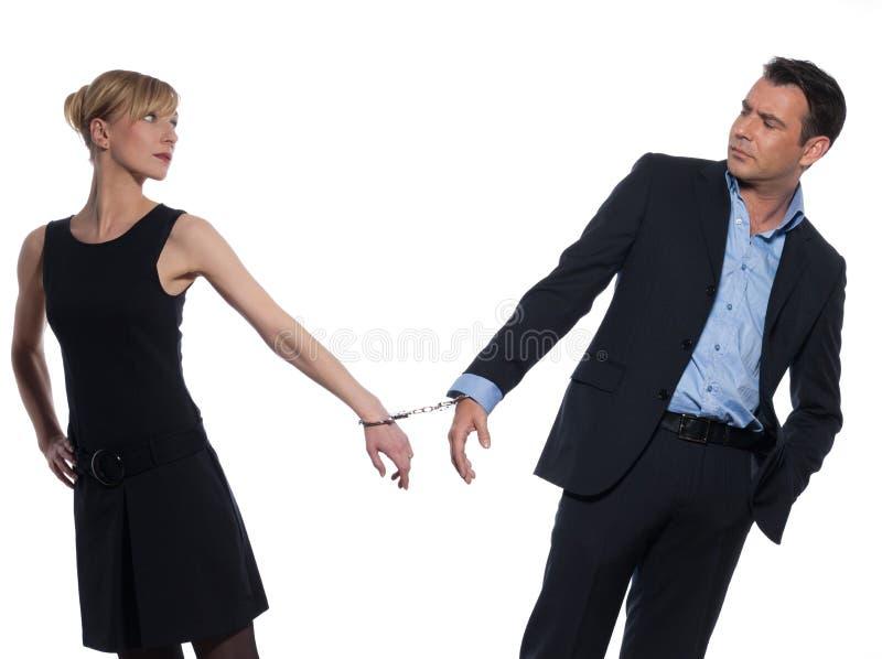Relacionamento dos pares imagens de stock