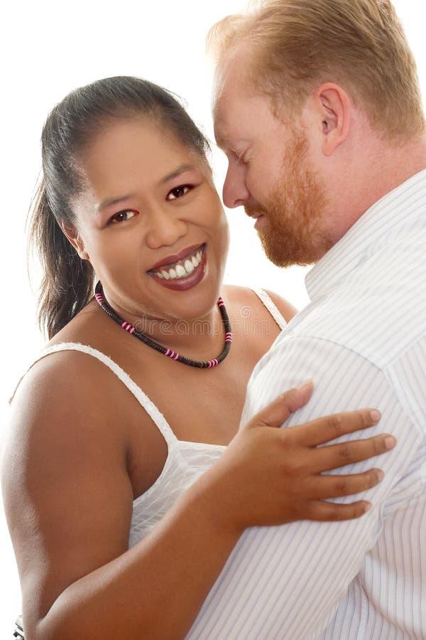 Relacionamentos raciais inter foto de stock