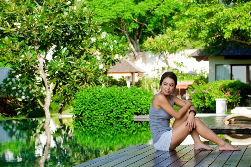 Relajación al aire libre fotografía de archivo
