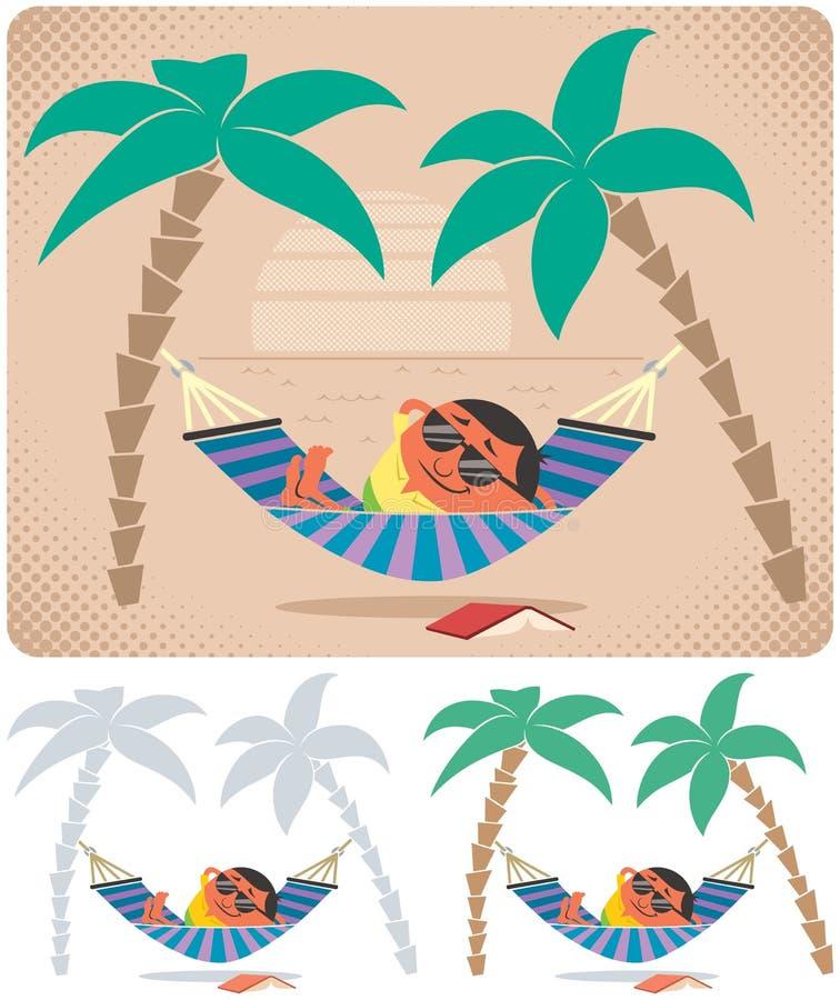 Relajación de la hamaca libre illustration