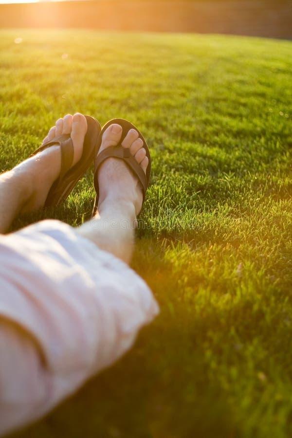 Relajación del verano foto de archivo libre de regalías