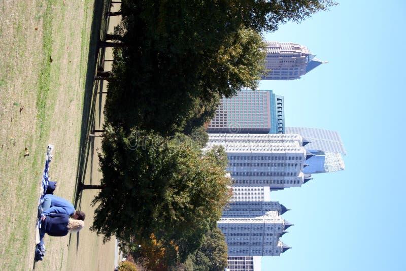 Relajación en el parque fotografía de archivo libre de regalías