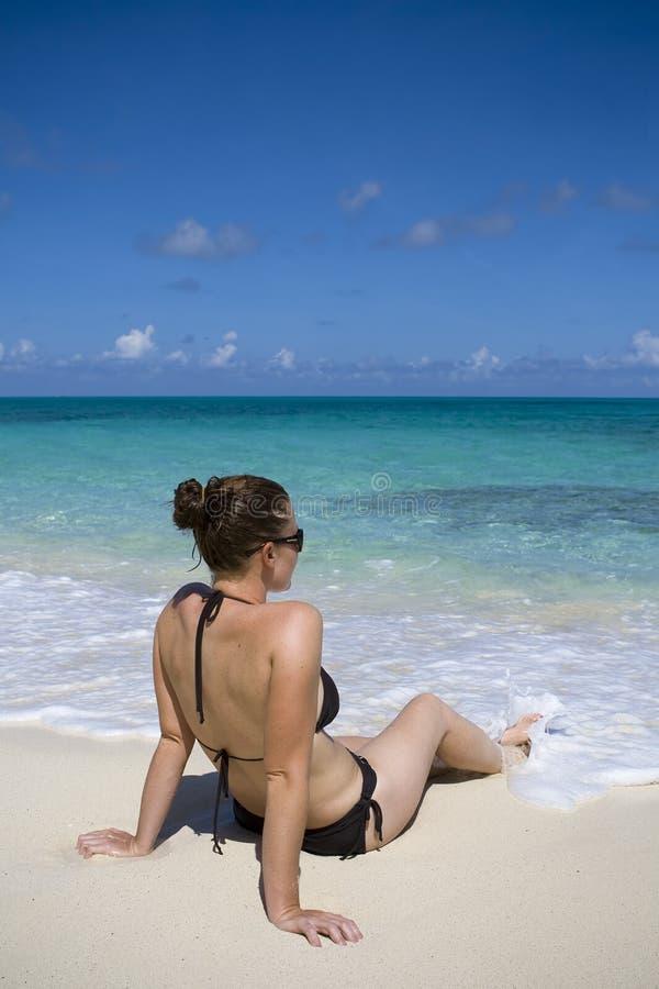 Download Relajación En Las Zonas Tropicales Foto de archivo - Imagen de caribbean, destinaciones: 7278740