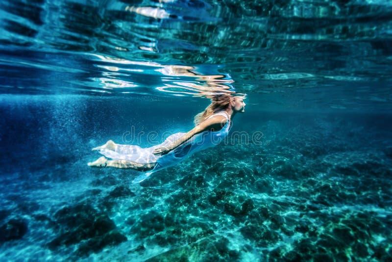 Relaks w morzu fotografia royalty free