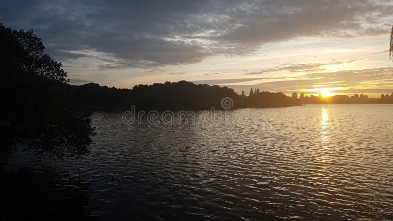 Relaksować sercem Hangzhou zdjęcia stock