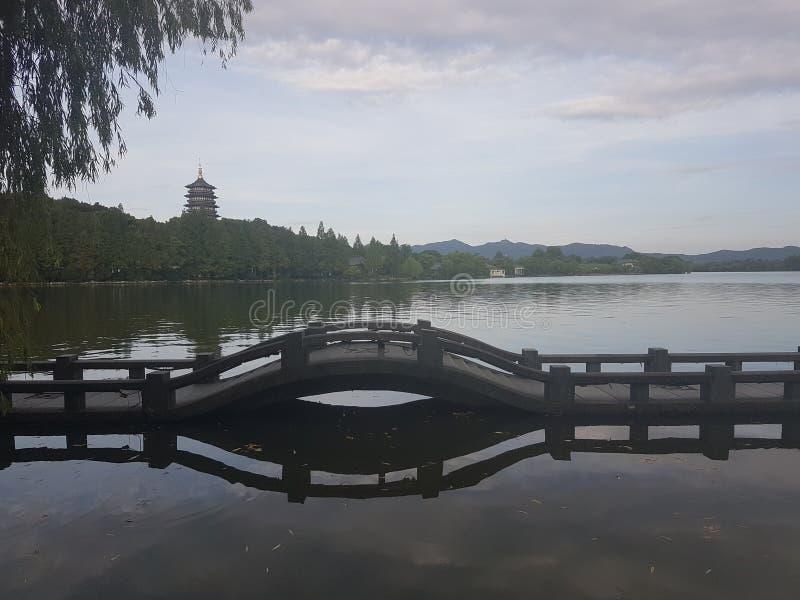Relaksować sercem Hangzhou obrazy stock
