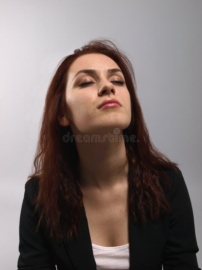 relaksująca kobieta zdjęcie royalty free