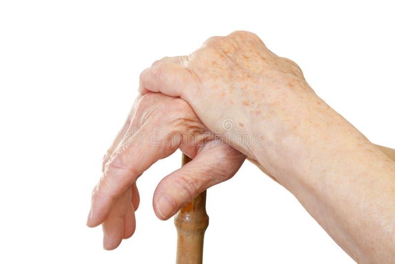 Relaksująca ręka zdjęcia stock