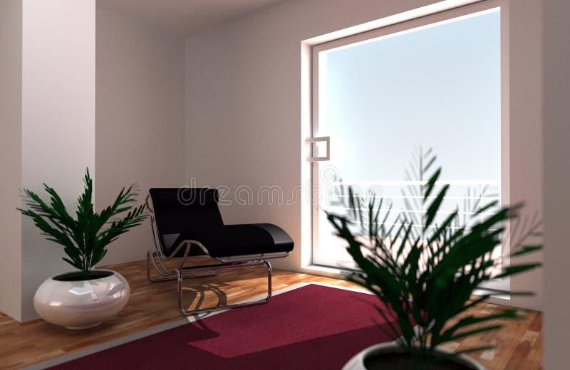 Relaksujący pokój obraz stock