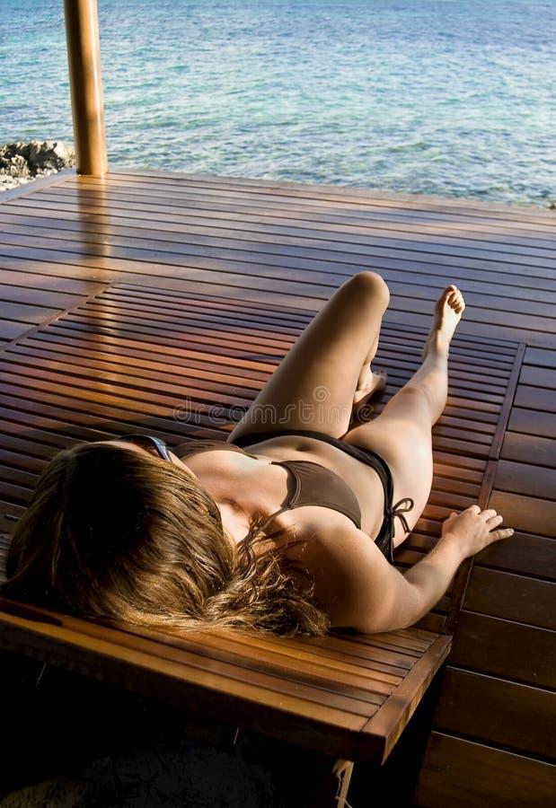 relaksujący zwrotniki zdjęcia stock