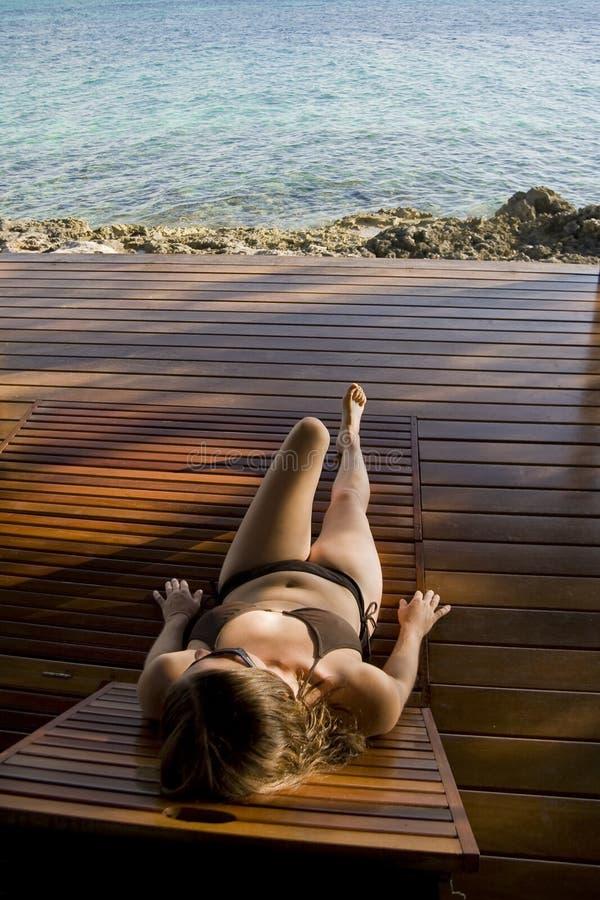 relaksujący zwrotniki zdjęcie royalty free