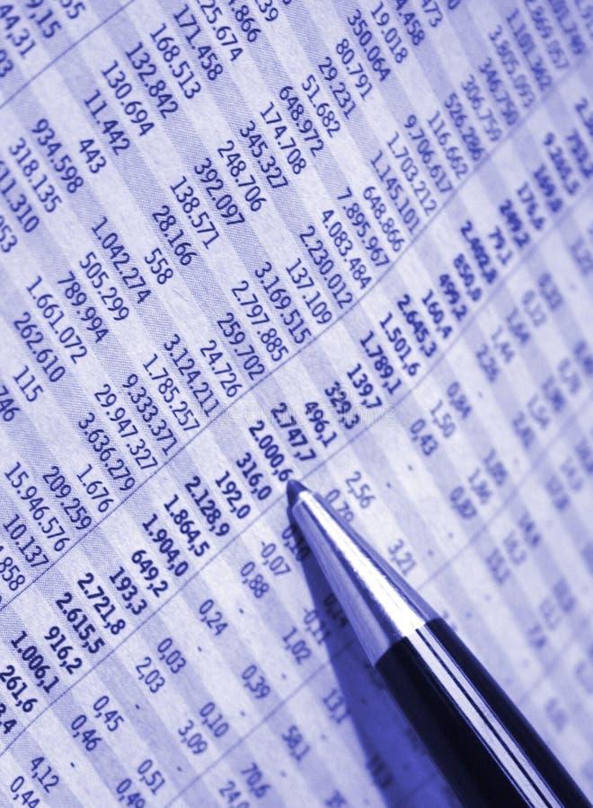 Relatório da contabilidade fotos de stock royalty free