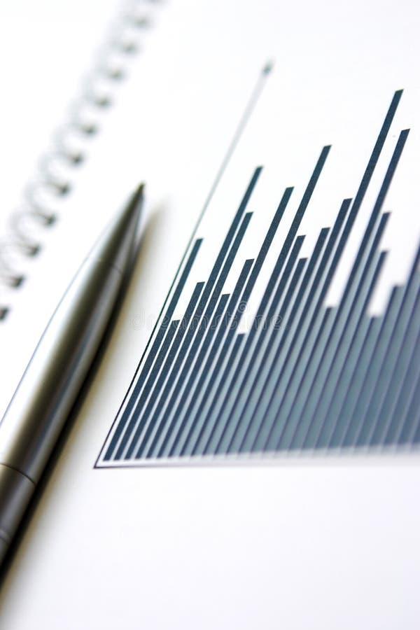 Relatório de negócio imagens de stock