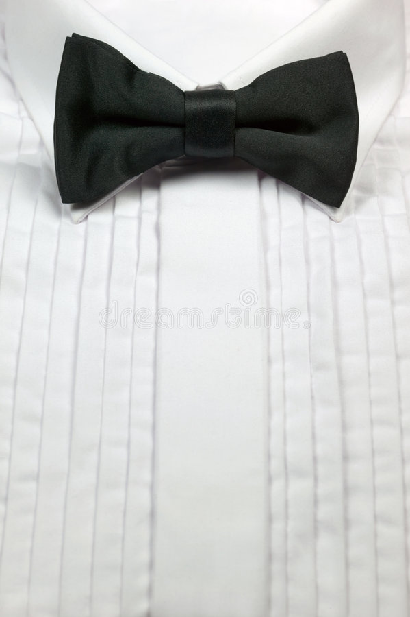 Relation étroite de proue et chemise de robe photo stock