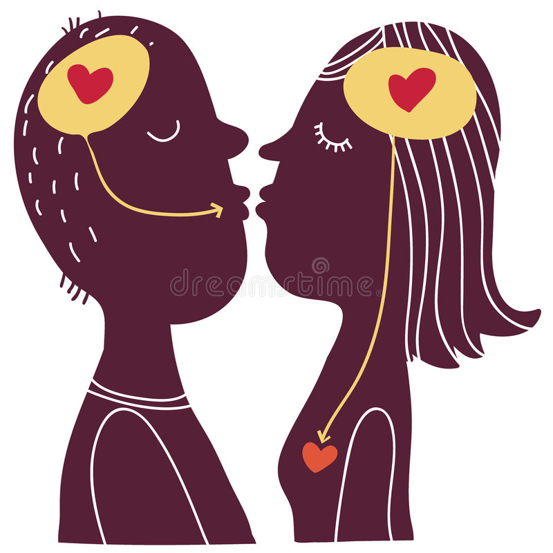 Relations concept stock images
