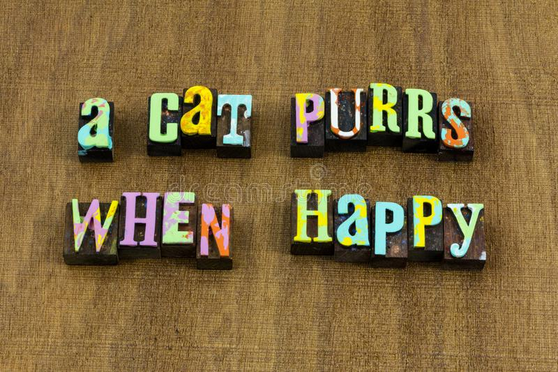 Relations heureuses se sentantes de pensées de citation de bonheur d'amour d'humeur photo libre de droits