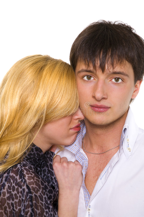 Relationship difficulties royalty free stock photos