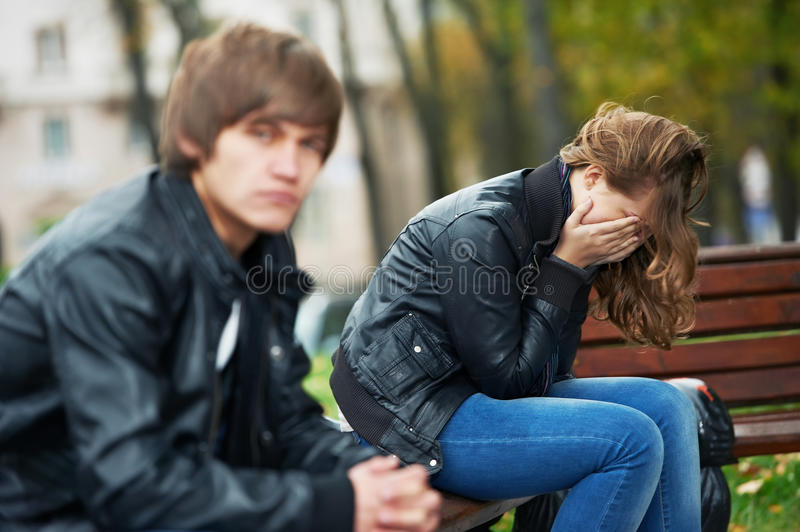 Download Relationship Difficulties Of Young People Couple Stock Photo - Image: 21469664