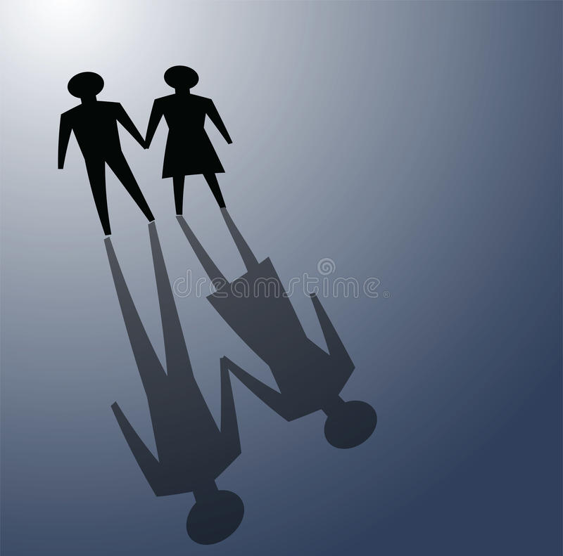 Download Relationship problems stock vector. Image of fear, quarrel - 23047352
