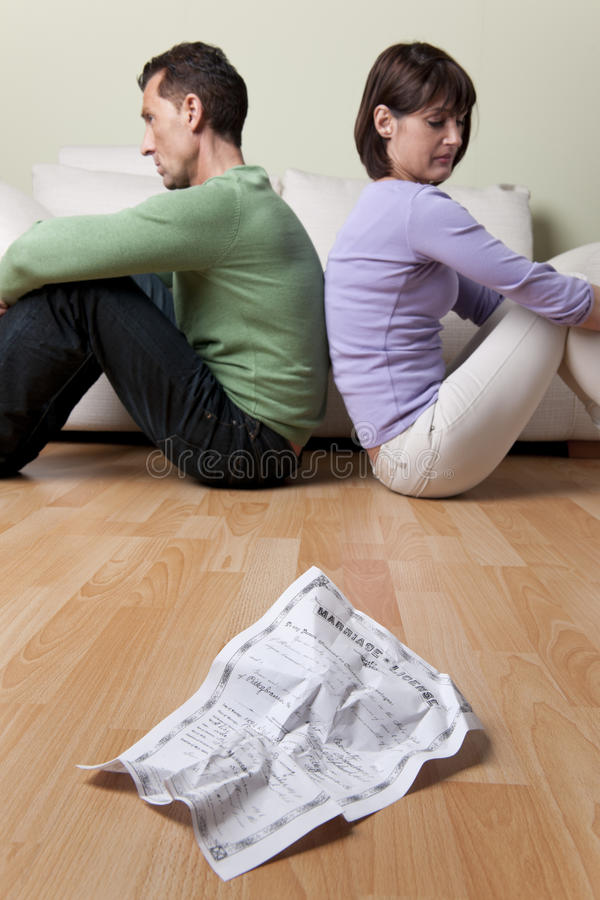 Download Relationship Problems stock image. Image of interior - 26218841