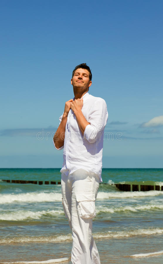 Download Relax stock image. Image of caucasian, beach, adult, balance - 15027121