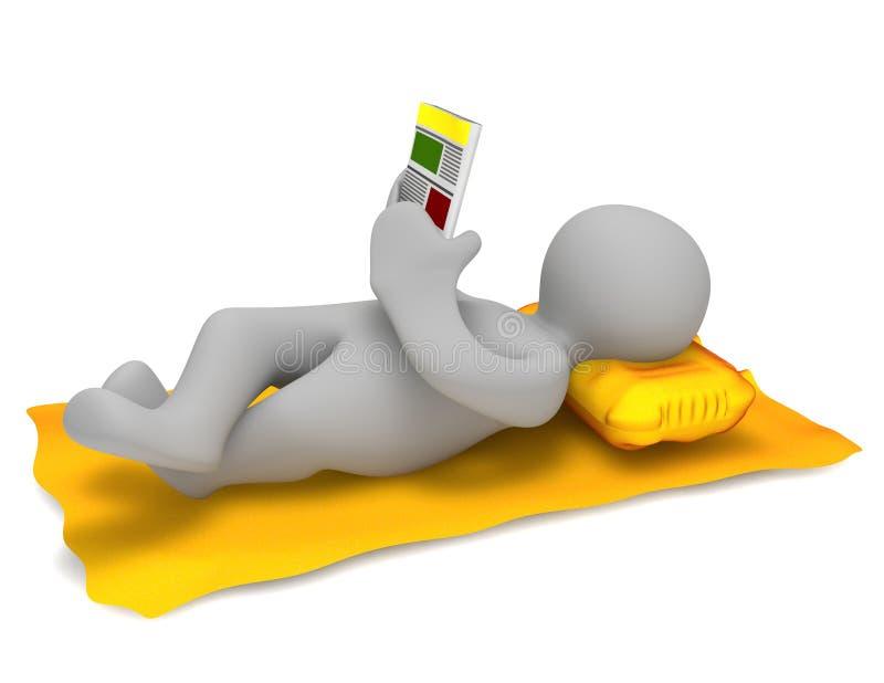 Download Relax stock illustration. Illustration of cartoon, person - 20081313