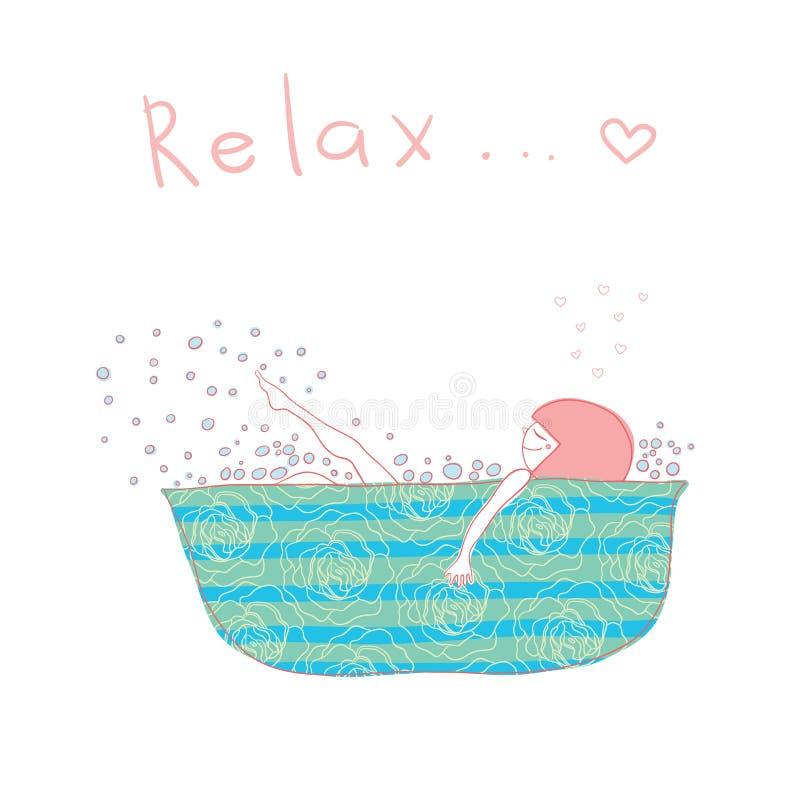 relax stock abbildung