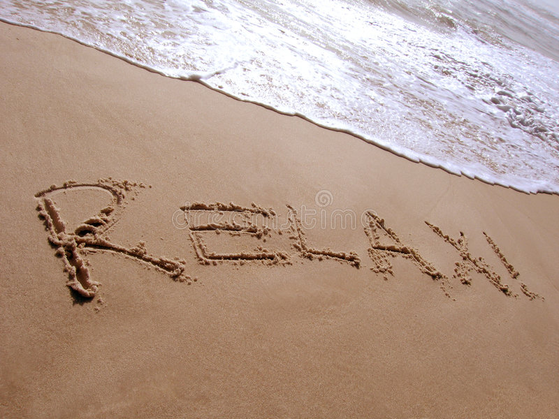 Download Relax stock photo. Image of relax, coastline, beach, wave - 614916