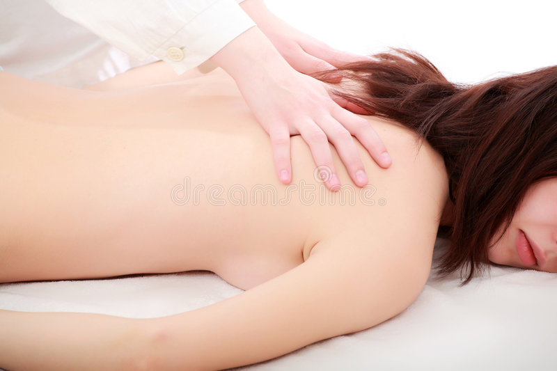 Relax back stock image