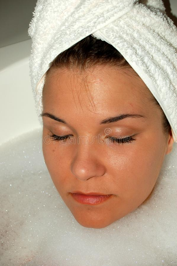 Relax In Bath #3 Stock Photography