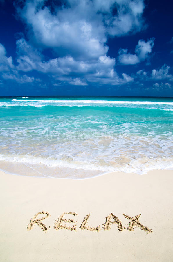 Download Relax On Beach Royalty Free Stock Photos - Image: 29586648