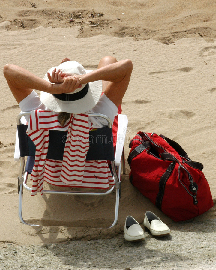 Download Relax On The Beach - Spain Royalty Free Stock Image - Image: 3297536