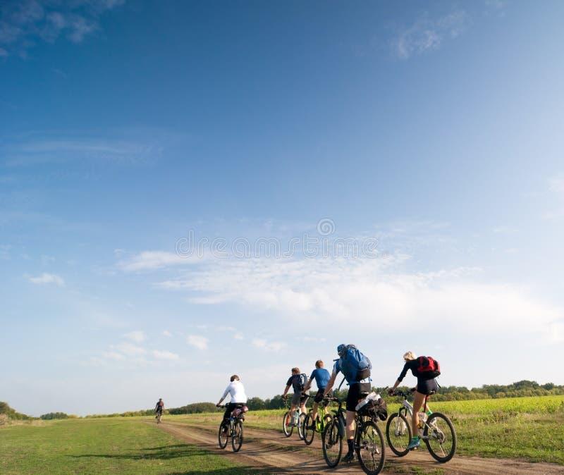Relax biking royalty free stock photography