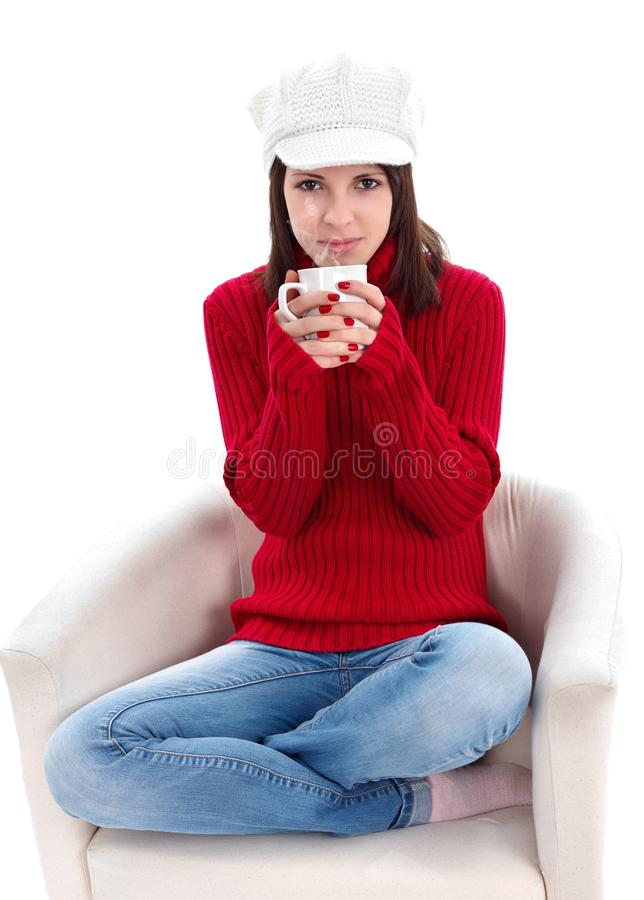 Relax With A Cup Of Tea Stock Photos