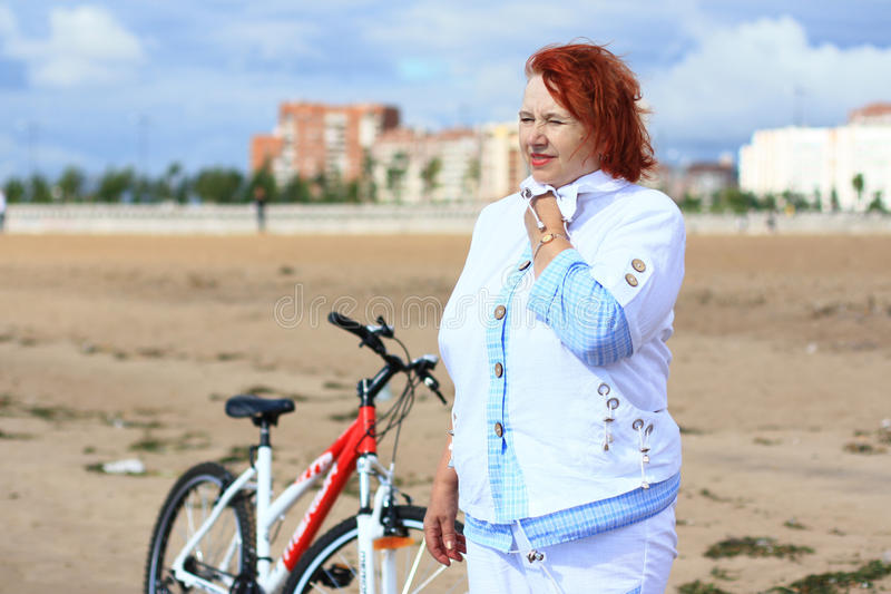 Download Relax after cycling stock photo. Image of looking, grandparent - 20287150