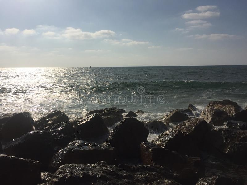 Sea sun and fun royalty free stock images