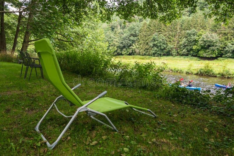 Relax in La Roche en Ardenne royalty free stock photography