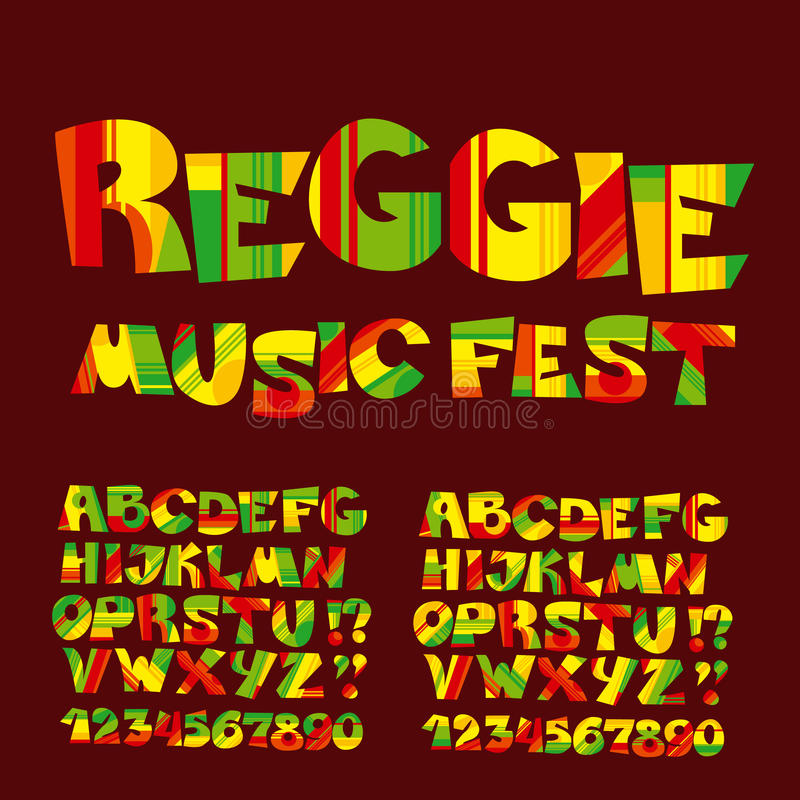 relax reggae music color font. stock vector - illustration of jamaican,  petchwork: 74777970  dreamstime.com