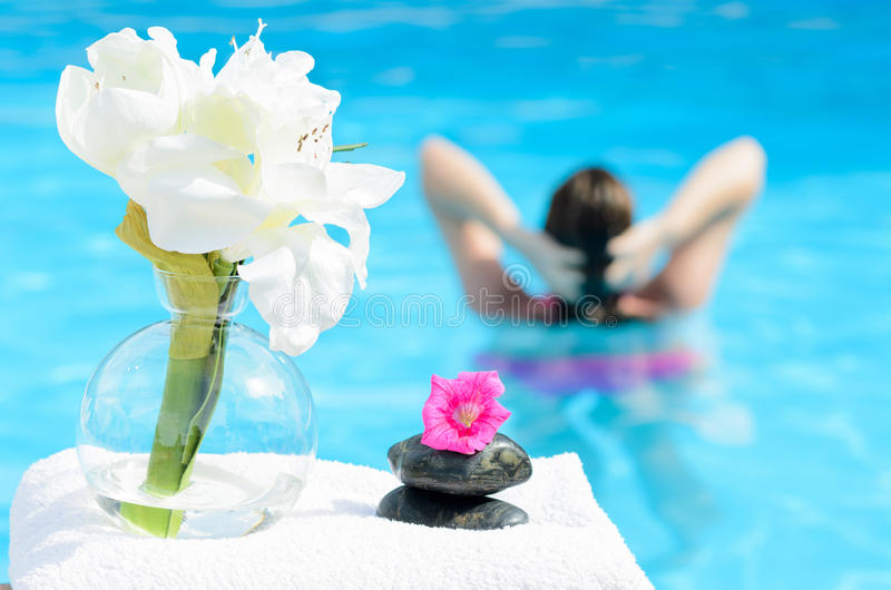 Relax in Spa stock photos