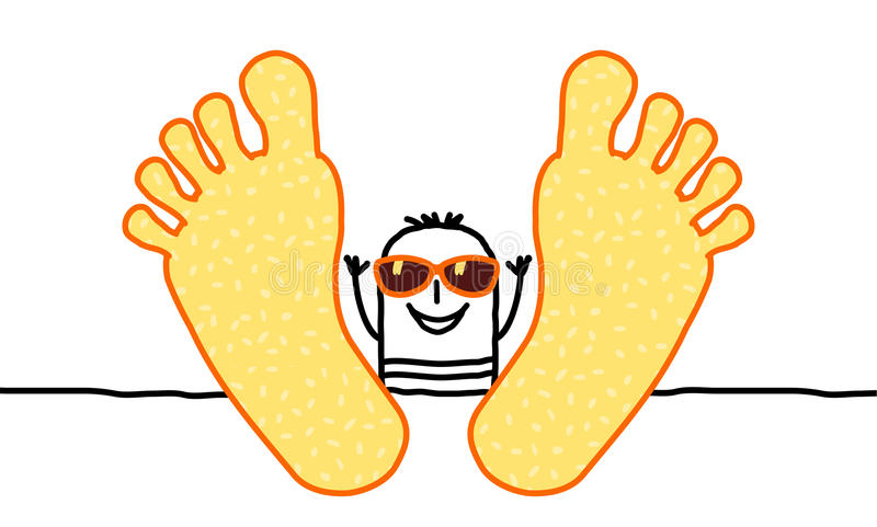 Download Relax & summer stock vector. Image of smiling, rest, weekend - 13484806