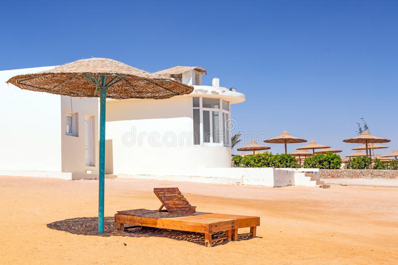 Download Relax Under Parasol On The Beach Of Red Sea Stock Image - Image: 30801061