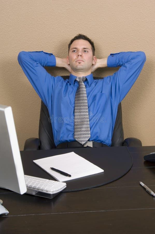Relaxamento no trabalho foto de stock royalty free