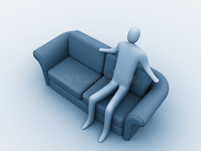 Relaxation. stock images
